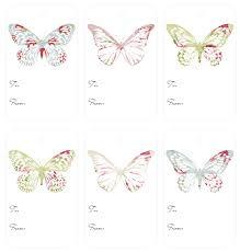 free printable butterflies templates