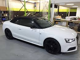 Timeline U2013 Compare Customswhite Audi A5 Convertible Customised
