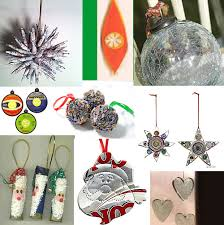 recycled ornaments