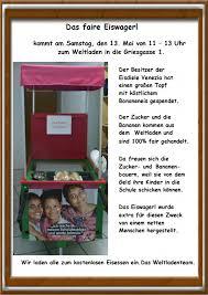Wirtschaftsschule Bad Aibling Muttertagsaktion Weltladen