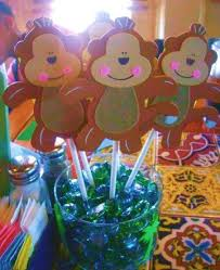 Baby Monkey Centerpieces by 32 Best Monkey Bday Images On Pinterest Birthday Party Ideas