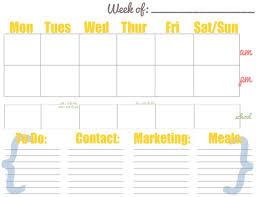 best 25 weekly calendar template ideas on pinterest calendar