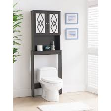Bathroom Toilet Storage by Black Over The Toilet Storage Cabinet Home Inspiration Ideas