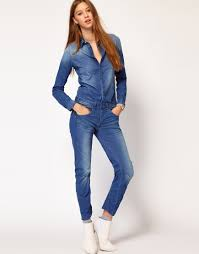jean jumpsuit denim jumpsuit womens clothing with excellent inspiration in spain