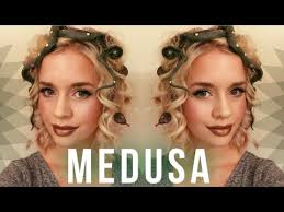 medusa hair costume medusa hair makeup youtube