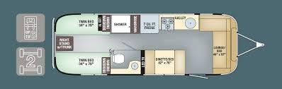 airstream travel trailers floor plans travel trailer floor plans with twin beds floor plans and