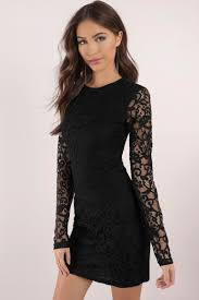 black lace dress black dress sleeve dress royal black dress bodycon