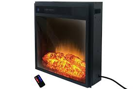 electric fireplace insert heater lowes infrared reviews 2015