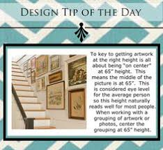 Hanging Art Height Two Rules Of Thumb For Hanging Things On Your Walls Smile And