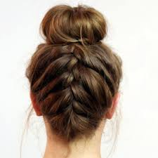 25 unique braid bun updo ideas on pinterest braided buns