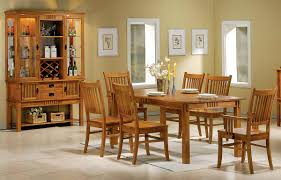 mission style dining table and chairs with ideas picture 6747 zenboa