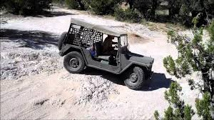 m151 jeep m151 a2 mutt on slickrock youtube