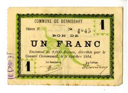 Map Of Belgium And France by Belgian Emergency Money From The First World War U2014 Museum Of The