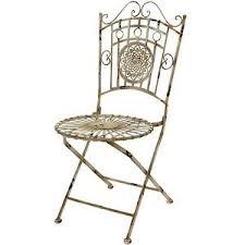 Old Metal Outdoor Furniture by Metal Lawn Chair Ebay