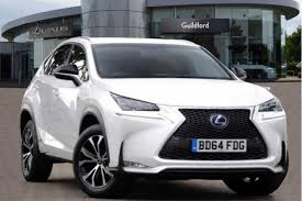 lexus car 2014 used 2014 lexus nx 300h 2 5 f sport 5dr cvt nav for sale in