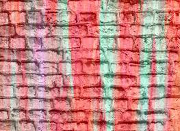 pastel colored brick wall background stock photo picture and