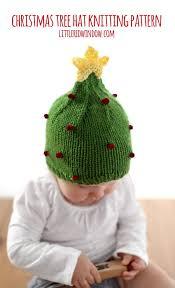 christmas tree hat christmas tree hat knitting pattern window