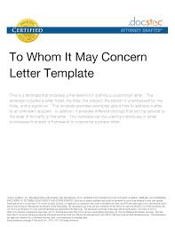 Business Letter Heading by Business Letter Heading To Whom It May Concern Cv Resume In Word