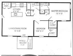 bed plan for 2 bedroom flat