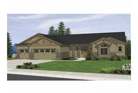 ranch style bungalow eplans bungalow house plan craftsman ranch style 3752 square