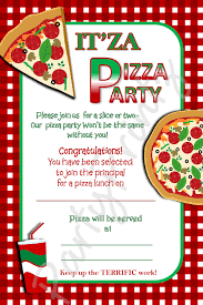 pizza party invitation template free party ideas pinterest