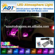 Car Interior Leds Ej 4pc Color 7 Color Led Car Interior Lighting Kit Car Interior