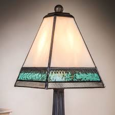 Glass Lamps Lighting Interesting And Charming Stained Glass Lamps For Modern