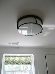 Restoration Hardware Flush Mount Ceiling Light Installing A Flushmount Light In The Kitchen To Replace