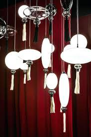 paper lantern light fixture light chinese lantern chandelier wanders calliope lighting