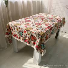 table covers for party mediterranean style wedding tablecloth cotton linen tablecloths