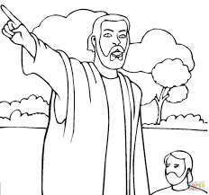 isaiah coloring pages coloring page