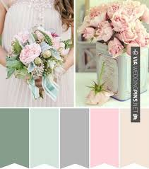 color schemes 2017 cool wedding colour schemes 2017 powder pink and duck egg