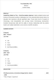Resume Details Example by Download Basic Resume Template Haadyaooverbayresort Com