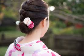 kanzashi hair ornaments shell we dress up with kanzashi japanese cool hair ornament