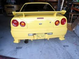 wrecking parts nissan skyline r34 gtt manual turbo xenon