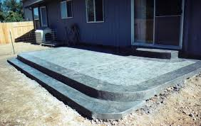 concrete porch steps ideas home design ideas