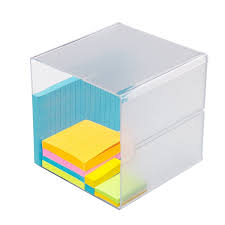 amazon com source one deluxe desk organizer frosted acrylic