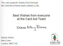 customised ecards charity cards by card aid