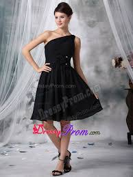 quinceanera damas dresses black one shoulder quinceanera dama dresses with flowers