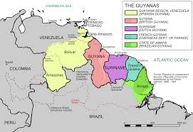 Bogota Colombia Map South America by Large Political And Administrative Map Of Guyana With Roads And