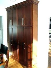 oak kitchen pantry cabinet tall oak pantry cabinet evropazamlade me