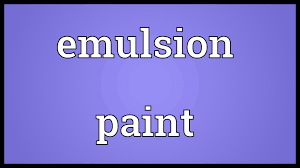 emulsion paint meaning youtube