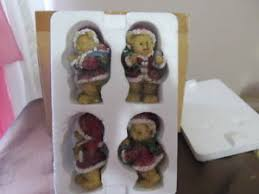 home interior bears home interior homco set of 4 small bears nib reduced 1