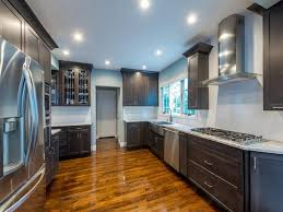 kemper cabinets for a contemporary kitchen with a cooktops and a