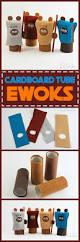 cardboard tube ewoks a fun star wars craft for kids