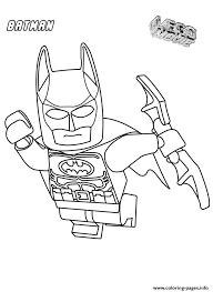 Print Batman Movie Coloring Pages Lego Batman