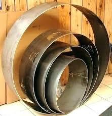 large metal rings images Large metal fire ring uppergeneseetu info jpg