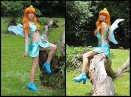 Winx Club Halloween Costumes Blue Fairy Bloom Winx Club Cosplay Mishiromirage Deviantart