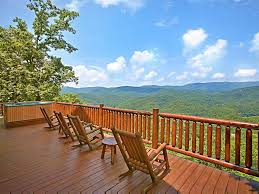wrap around deck wrap around deck with views from u0027above homeaway sevierville