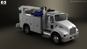 kenworth heavy trucks 360 view of kenworth t300 heavy service truck 2006 3d model